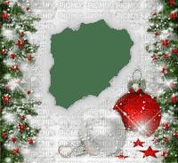 christmas noel frame cadre fond ball branch
