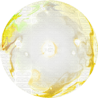 Kaz_Creations Deco Colours Yellow Circle Ball Earth World Globe