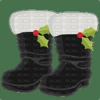 santa boots bottes  pere noel