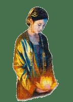 woman  lotus oriental femme zen