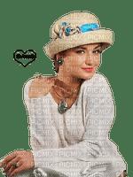 femme,fashion,chapeau,fille,visage,deko,tube, Pelageya