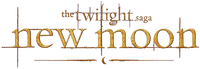twilight new moon text logo
