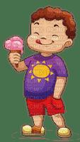 ice cream child boy