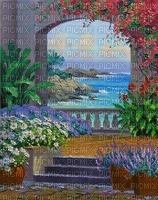 background-fond-paysage-tube-Blue DREAM 70