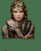 mujer y serpiente by EstrellaCristal