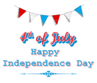 Kaz_Creations America 4th July Independance Day American Text