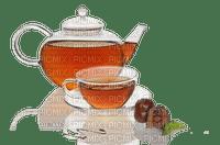 tea pot and cup thé gousse  thé tasse
