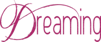 soave  text dreaming pink