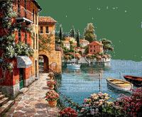village town sea / ville mer