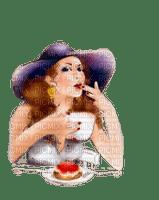 Lady, Ladies, Woman, Women, Girl, Girls, Fille, Female, Femme, Hat, Coffee - Jitter.Bug.Girl