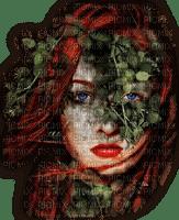mujer y flores by EstrellaCristal