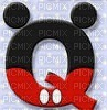 image encre lettre Q Mickey Disney edited by me