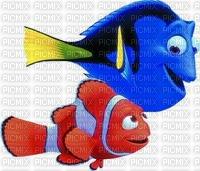 image encre Dory et Nemo Disney edited by me