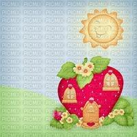 Kaz_Creations Backgrounds Background Strawberry Shortcake