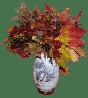autumn vase leaves automne vase feuilles
