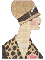 Vintage Woman in Profile