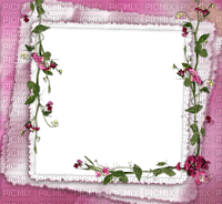 Cadre.Frame.Pink.Fleurs.Victoriabea