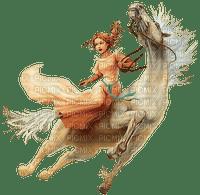 cheval & femme (