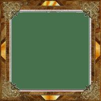 rfa créations- cadre brun et doré