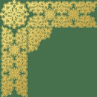 Coin doré or golden corner