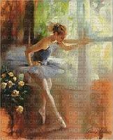 Ballerina, Tänzerin, Hintergrund