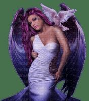 ánge angel violette  purple