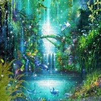 fantasy forest foret