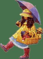 enfant parapluie