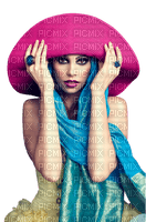 femme,Belle dame en chapeau,deko,Pelageya