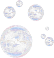 bubbles transparent deco