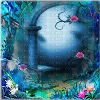 blue fantasy bg bleu fantaisie fond