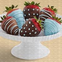 image encre bon anniversaire des fraises fête diplôme mariage chocolat multicolore  edited by me