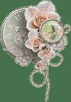 vintage deco clock kikkapink
