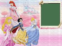 image encre bon anniversaire color effet  Disney les princesses edited by me