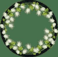 flower circle frame deco cadre fleurs cercle