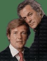 Hommes (Tony Curtis et Roger Moore )
