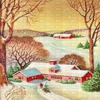 Winter, Landschaft, Hintergrund