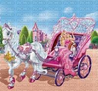 image encre bon anniversaire paysage le chariot color effet voiture cheval fantaisie edited by me