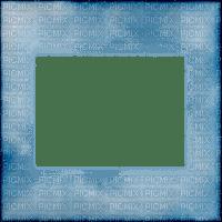 soave frame transparent border blue shadow