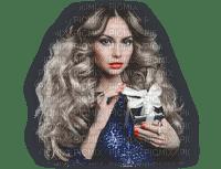 minou-woman-blue-blond