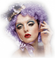 femme au cheveux violet.Cheyenne63