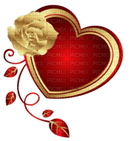 Kaz_Creations Deco Flower Heart Love