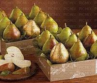 fruit des poires