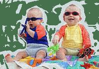 beach baby with sunglASSES