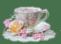 fleur cafe the coffee tea cup vintage deco tube tee kaffee tasse