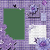 violet frame deco cadre violette