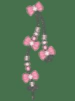 Noeud corde rose Debutante