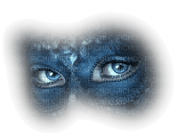 cecily-masque et yeux bleus