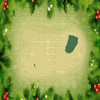 pine tree frame christmas
