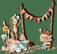 multicolore image encre gâteau pâtisserie bon anniversaire ballons edited by me